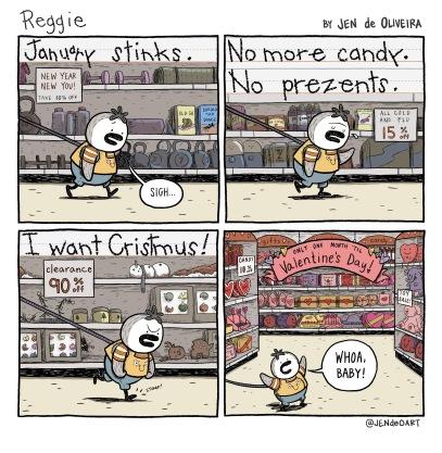 3: January Stinks