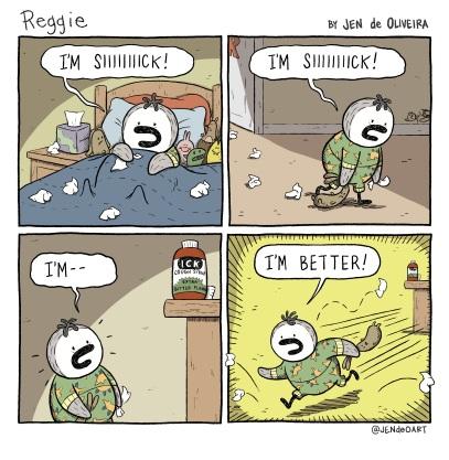 10: I'm Siiiiick!