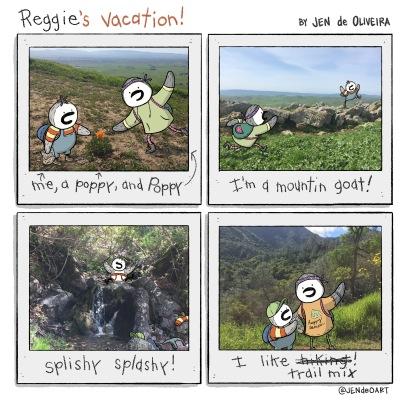 24: Reggie's Vacation (Hiking)