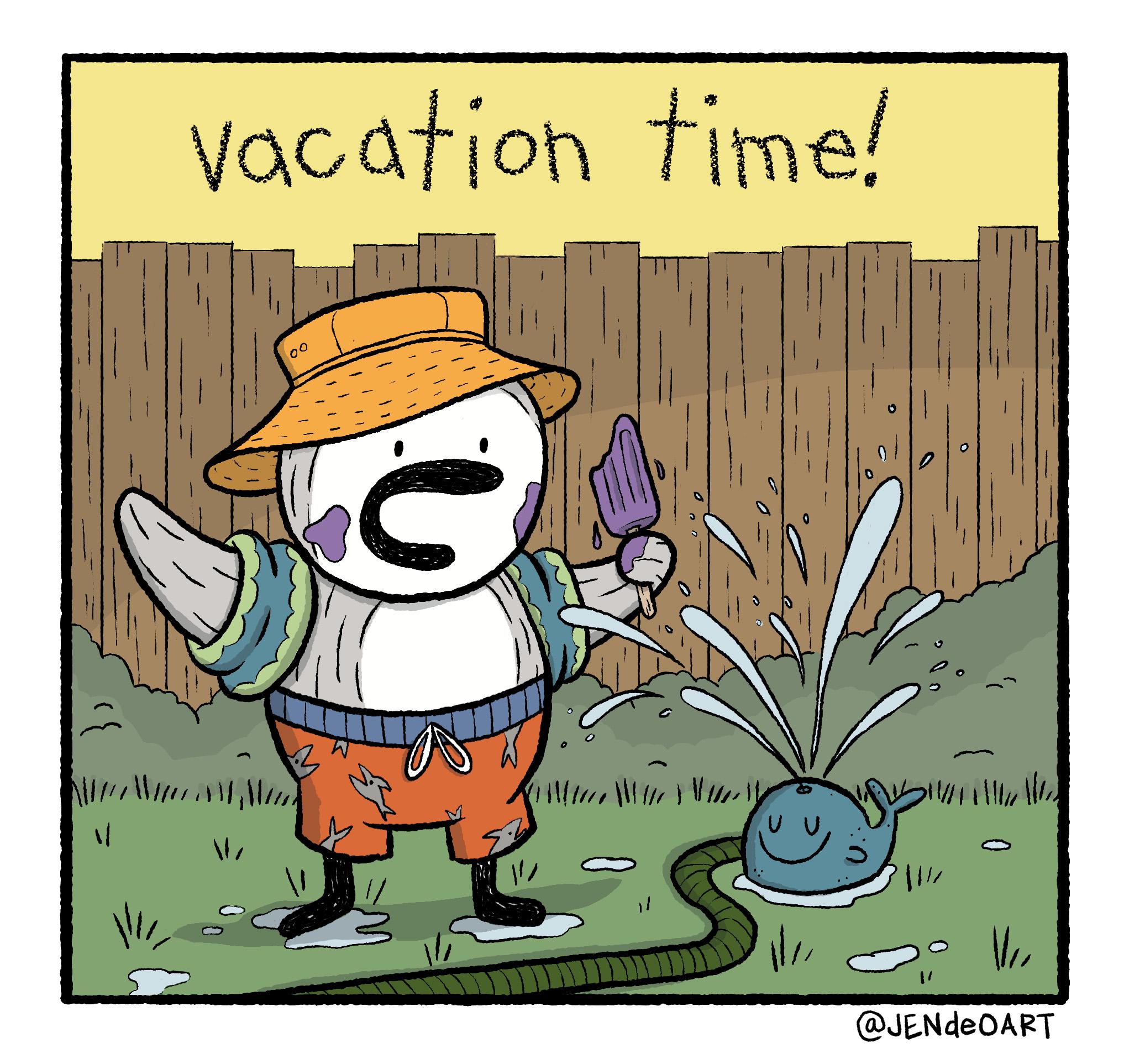 reggie summer vacation