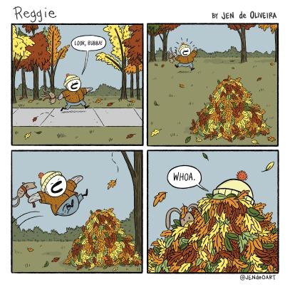 33: Fall Leaves