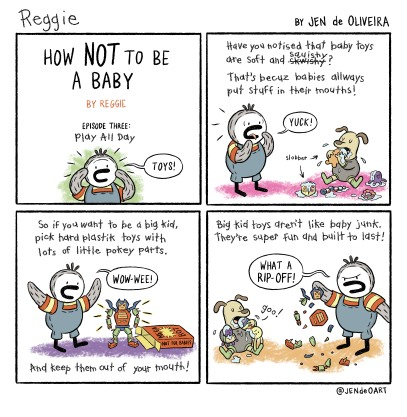 58: How NOT to Be a Baby #3